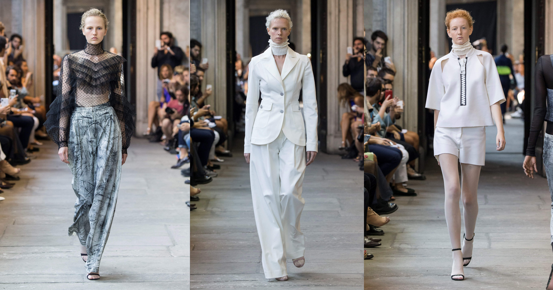 ... sukne prevažne midi dĺžky to je charakteristická viac vedomá a menej  nápaditá nová ženskosť kolekcie jar leto 2019 Christiano Burani. 83bf5d08be0
