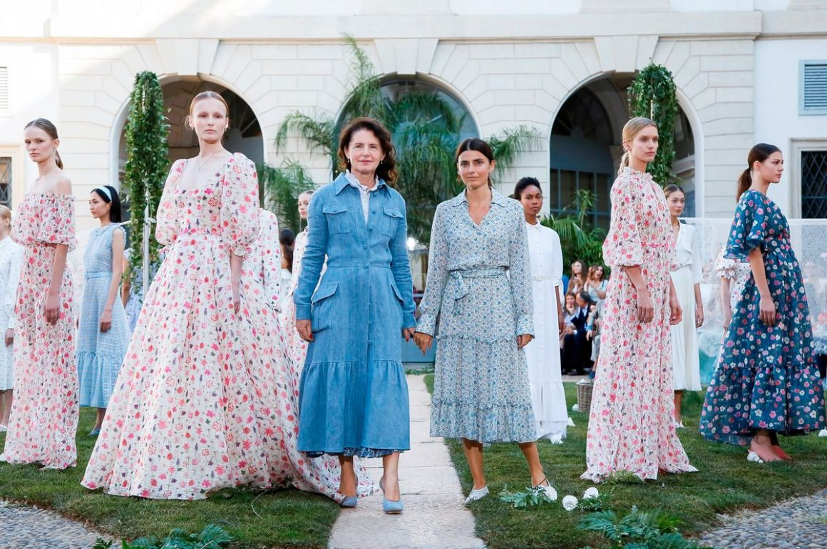 Luisa Beccaria – anglický dobový vidiek v kolekcii Jar/Leto 2020, diverzita, ženskosť, romantika, Milan Fashion Week, september 2019
